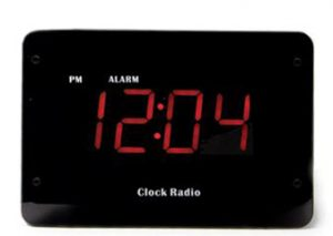 Hidden Spy Color Camera Clock Radio