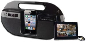 Digital Wireless LCD Receiver IR iPod Dock