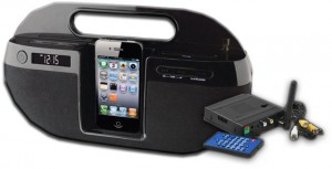 Digital Wireless Quad Receiver iPod Dock