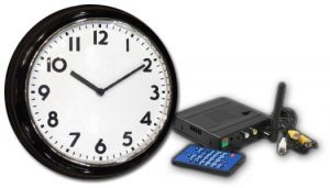 Digital Wireless Quad Receiver Wall Clock