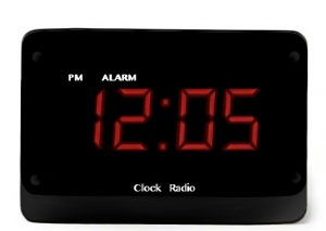 Modern Digital Clock DVR