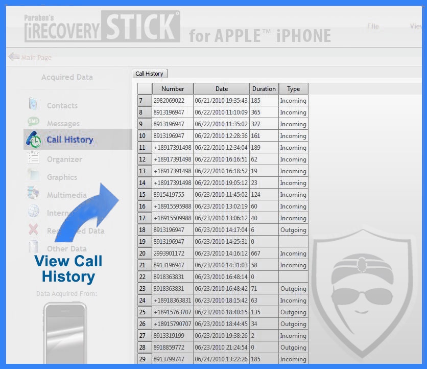 iphone call history limit irecovery finds deleted text messages calls pictures 4469